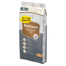 EMINENT Senior Light 15 + 3 kg GRATUIT