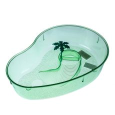 Terrarium pentru broaște țestoase cu palmier – verde deschis