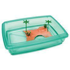 Piscină pentru țestoase - verde - 43,5 x 34 x 11 cm