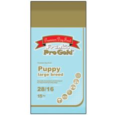 Frank's Pro Gold Puppy Large Breed 28/16 - 15kg