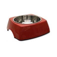 Castron câine DOG FANTASY, pătrat - 0,70L, roşu