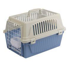 Cușcă de transport Ferplast ATLAS 10 OPEN pentru pisici și câini, cu perniță inclusă