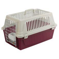 Cușcă de transport Ferplast ATLAS 20 OPEN pentru pisici și câini, cu perniță inclusă