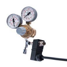 """Supapă reducere presiune CO2 -G3/4"""" + supapă cu ac + supapă electromagnetică (2x man)"""