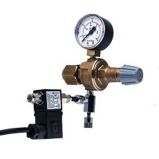 """Supapă reducere presiune CO2 W21,8x1/14""""  + supapă cu ac și solenoidă"""