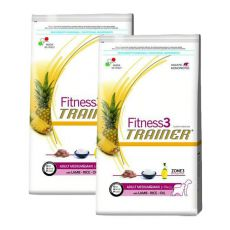 Trainer Fitness3 Adult MEDIUM MAXI - miel și orez 2 x 12,5 kg