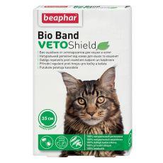 Zgardă cu efect insectifug pentru pisici Beaphar, natural - 35cm