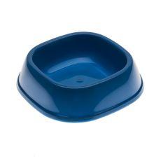 Castron pentru câini SNACK 1 - plastic, albastru, 250 ml
