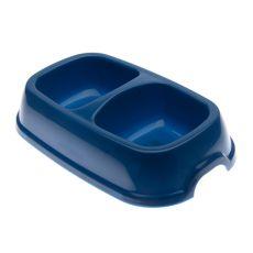 Castron dublu pentru câini SNACK 22 - albastru, 2 x 500 ml