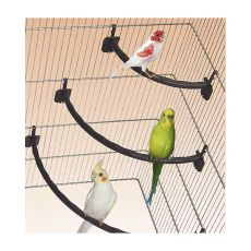 Stinghie din plastic pe maro pentru păsări - 1,2 x 21 cm