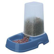 Distribuitor de apă şi hrană KUFRA 2 - albastru - 1,5L