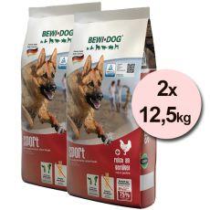 BEWI DOG SPORT 2 x 12,5kg