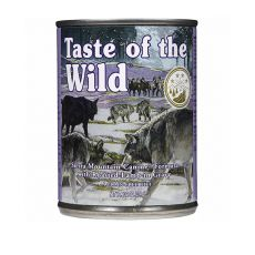 TASTE OF THE WILD Sierra Mountain Canine - conservă, 390g