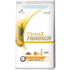 Trainer Fitness3 Adult MEDIUM MAXI, rabbit and potatoes- 12,5 kg
