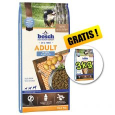 Bosch ADULT Fish & Potato 15 kg + 3kg GRATUIT