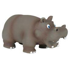 Jucărie din latex pentru câini- hipopotam,17 cm