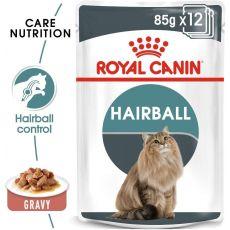 Royal Canin HAIRBALL CARE - pliculeț 12 x 85 g