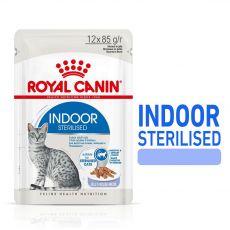 Royal Canin Indoor Sterilised In Jelly Pliculeț 12 x 85 g