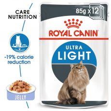 Royal Canin Ultra Light in Jelly 12 x 85g - jeleu în pungă de aluminiu